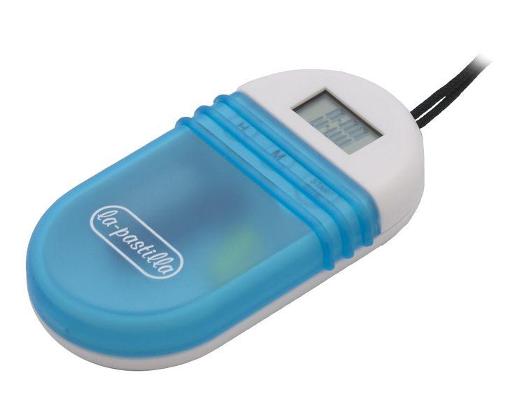 Pastilleros con alarma, Pastillero Reloj Digital con cronómetro cuenta atrás. El pastillero con alarma ayuda a organizar la medicación y recordar la toma.