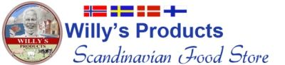 Willys Products Scandinavian Food Store | Scandinavian Foods | Norwegian Food Specialties | Norwegian, Swedish, Danish and Finnish Food Distributor