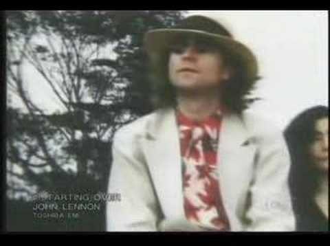 John Lennon - Starting Over (+playlist)  JUST LIKE STARTIN' OVER BABY!