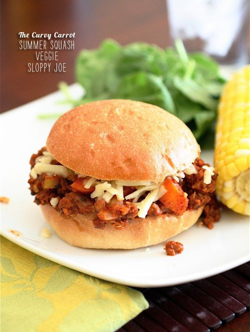 FoodieCrush Magazine The Curvy Carrot Sloppy Joe