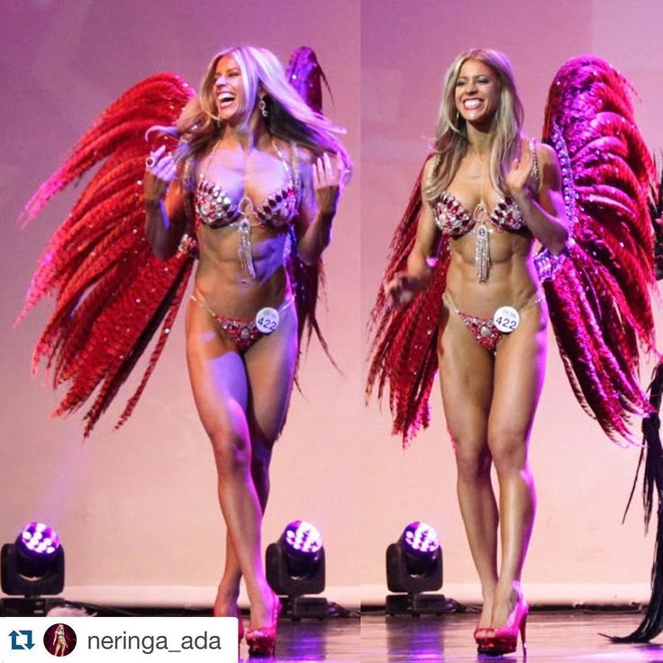 """""""@neringa_ada our Amazon, wearing bikini and wings by us ・・・ The sweet taste of Victory! Still buzzing of becoming WBFF European Pro Diva Fitness Champion…"""""""