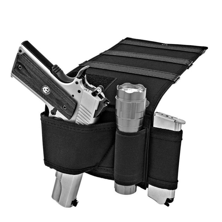 Tactical Pistol Universal Gun Holster for Car, Couch and Mattress