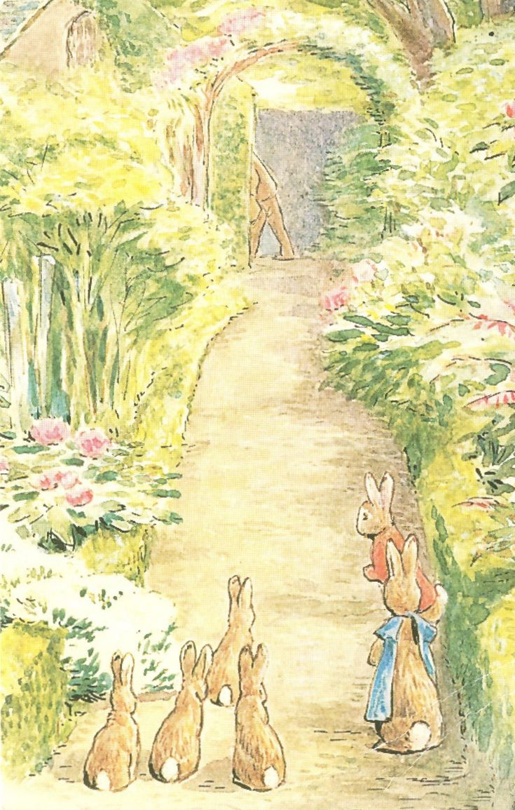 'The Tale of The Flopsy Bunnies' by Beatrix Potter