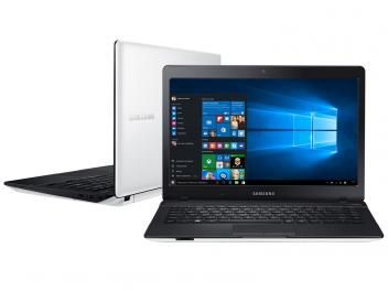 "Notebook Samsung Essentials E21 Intel Dual Core - 4GB 500GB LED 14"" Windows 10"