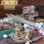 S'more Krispies - only change is to add vanilla to the butter mixture and put one cup of marshmallows in with the cereal.