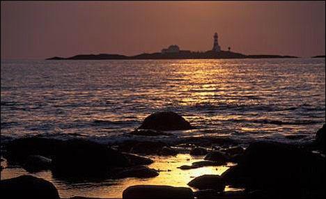 JÆREN: Mil etter mil med sandstrender og sanddyner, og et flott lys ...