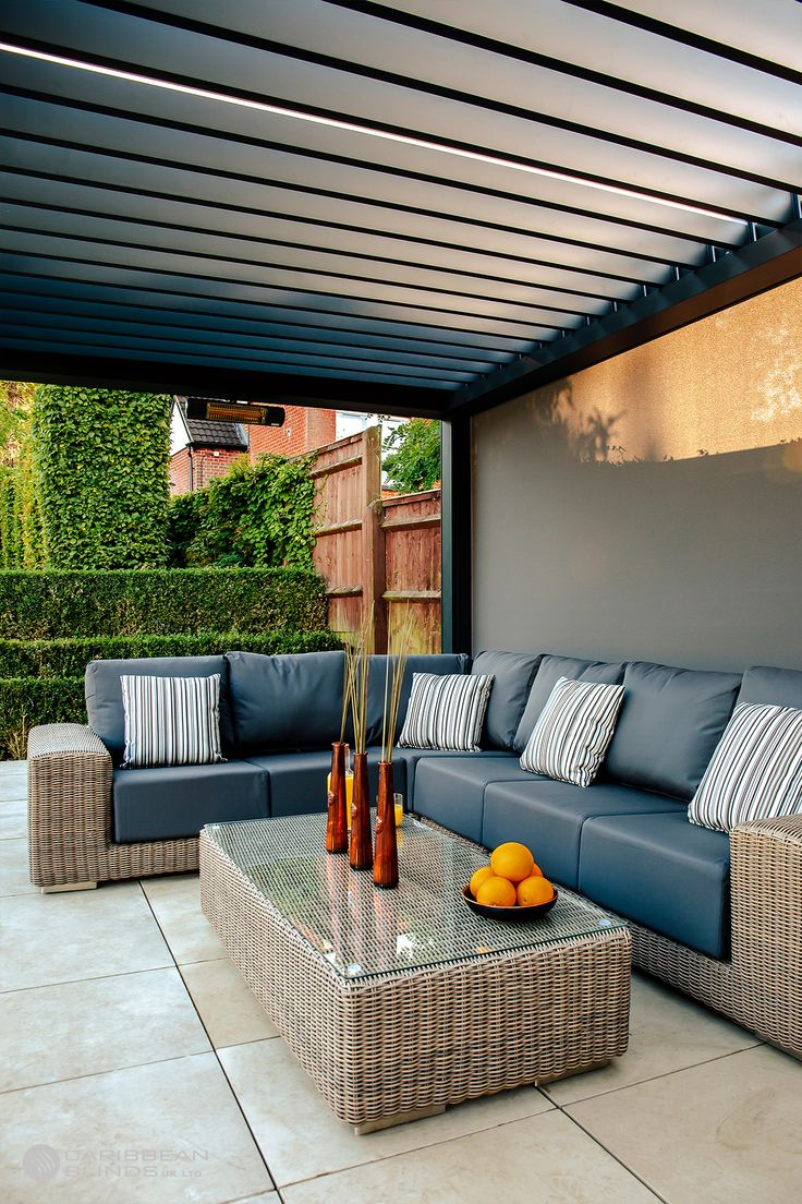 Transform your Garden with a Luxury Louvered Roof Pergola
