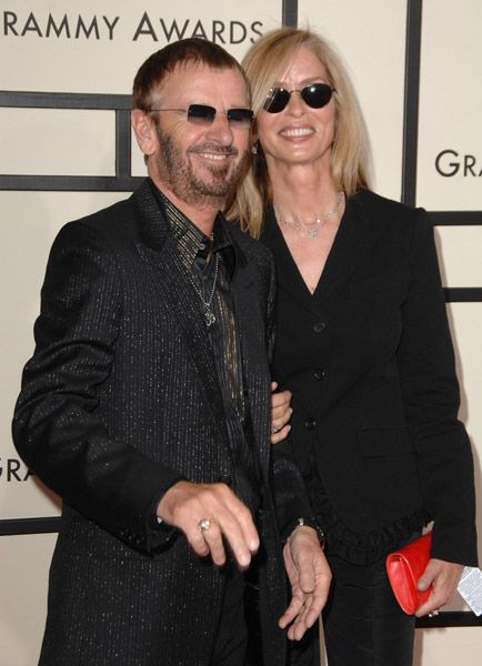 Ringo Starr and Barbara Bach | Beatle GIRLS | Pinterest
