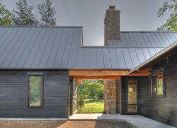 Tellico Cabin - contemporary - exterior - nashville - Hefferlin & Kronenberg Architects