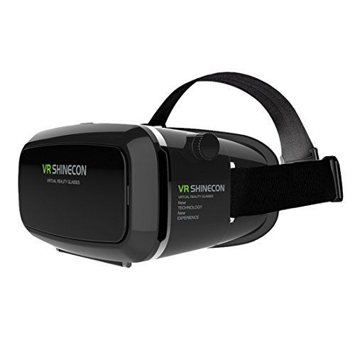 XiangHan VR Shinecon Virtual Reality 3D Glasses Headset Oculus Rift Head Mount Movie Game 4.0-6.0 Inch Phone