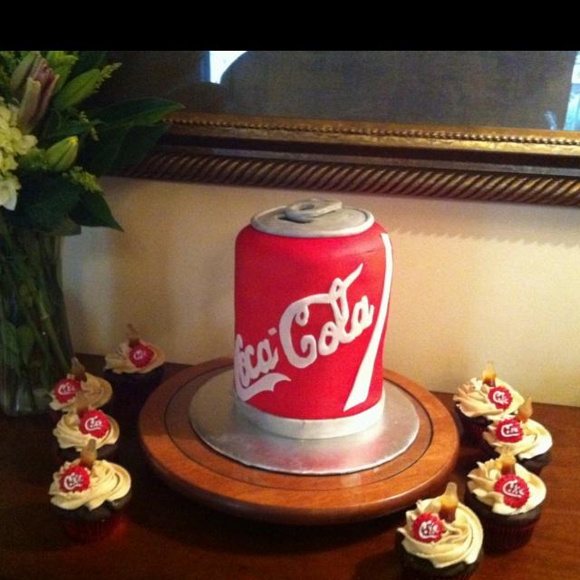 Coca-Cola Cake | cakes | Pinterest
