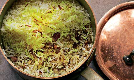 Yotam Ottolenghi's recipes for saffron, date and almond rice, plus yellow pepper and jerusalem artichoke soup