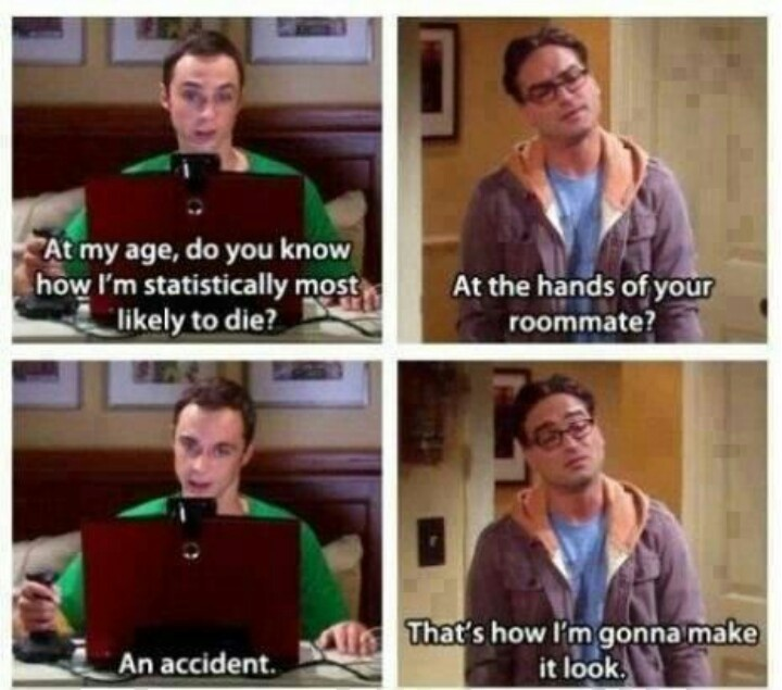 How sheldon might die!