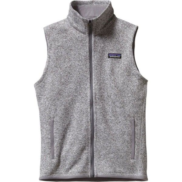 Patagonia Better Sweater Fleece Vest ($99) ❤ liked on Polyvore featuring outerwear, vests, fleece vest, patagonia, fleece lined vest, vest waistcoat and patagonia vest