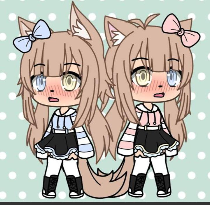 gacha life twins in 2019  anime outfits character
