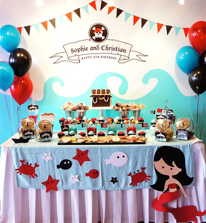 16 best Pirate Party Decorations images on Pinterest | Birthdays ...