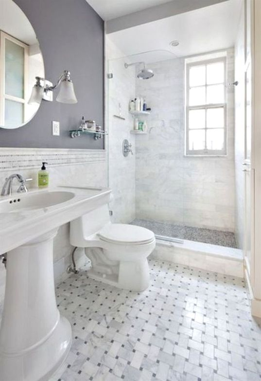 47 Best Small Bathroom Remodel Ideas On, What Is The Best Flooring For Small Bathrooms