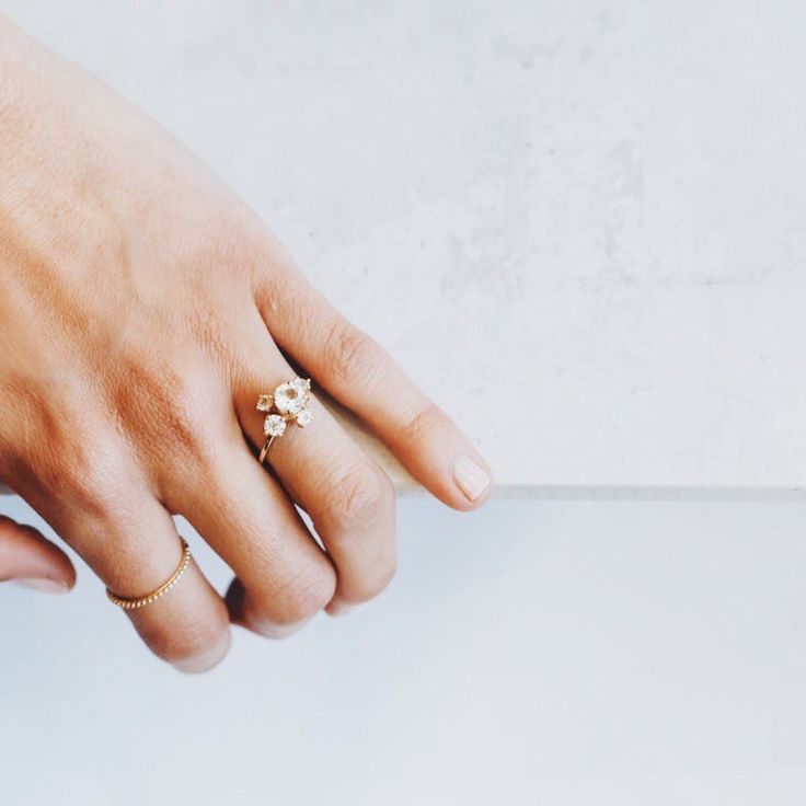 The Jewellery Designer You'll Want to Make Your Engagement Ring via @WhoWhatWearAU