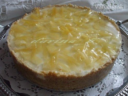 Tvarohová torta s ananásom