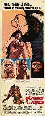 Planet of the Apes (1968) movie #poster, #tshirt, #mousepad, #movieposters2