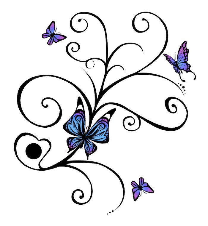 Die besten 25 kleine blumen tattoos ideen auf pinterest for Kleine fliegen blumen