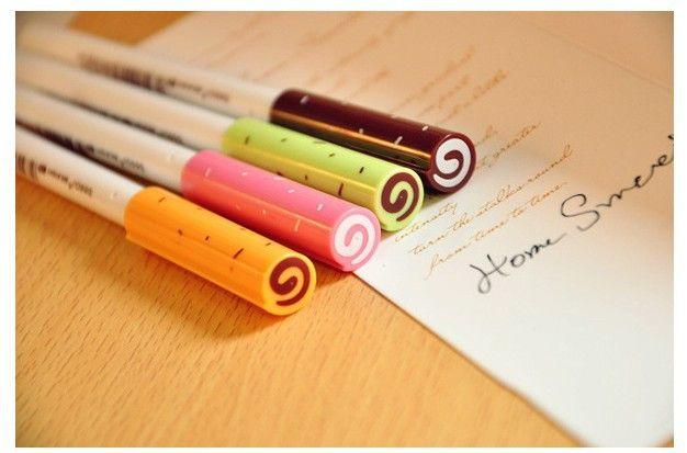 Kawaii Sweet Candy Gel Pen (Set of 4)