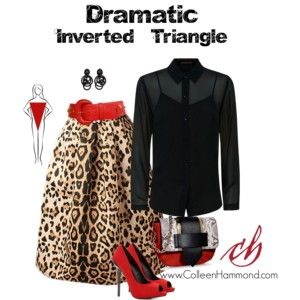 Dramatic Inverted Triangle 2