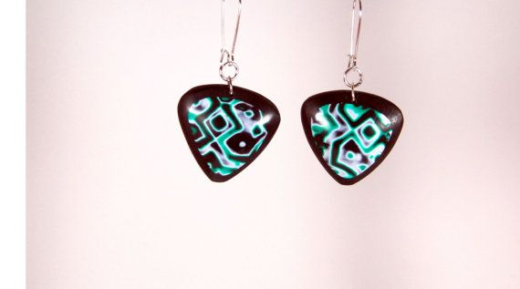 Polymer clay earrings polymer clay dangles by TheHappyLollipop