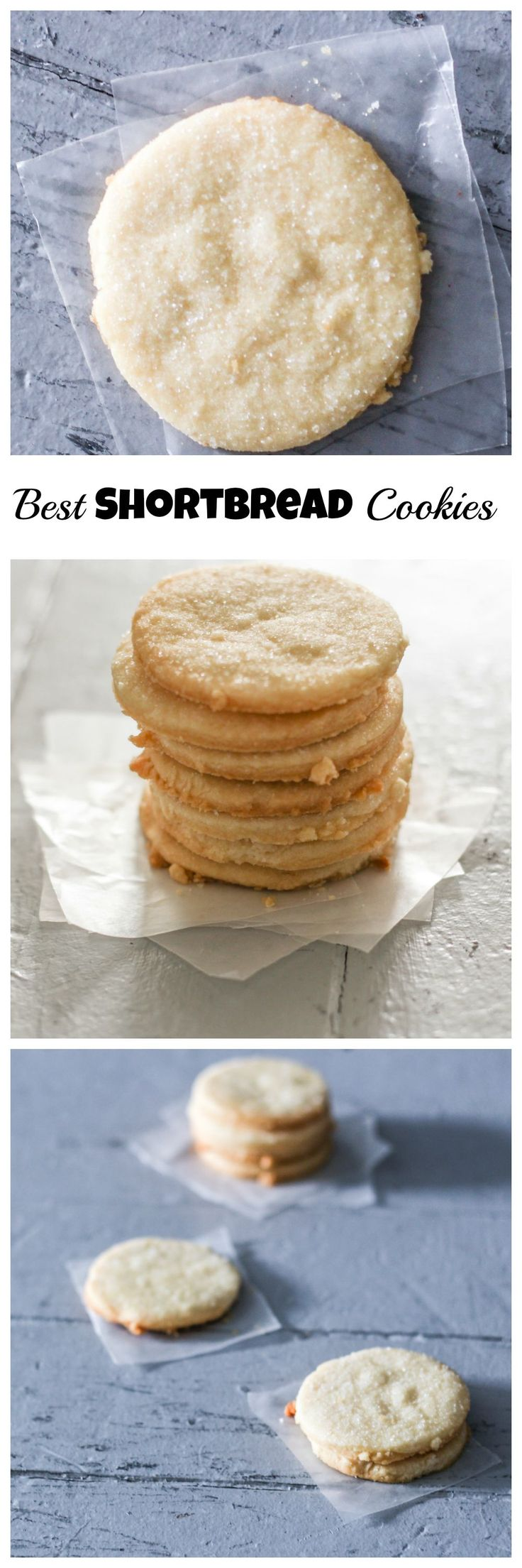 Best Shortbread Cookies! Perfect for Holiday cookie exchanges.
