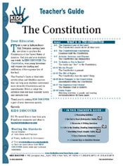 FREE 12-page Downloadable Lesson Plan for Kids Discover the Constitution!