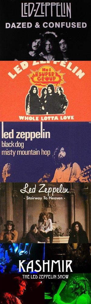 Cinque tra le migliori canzoni dei Led Zeppelin