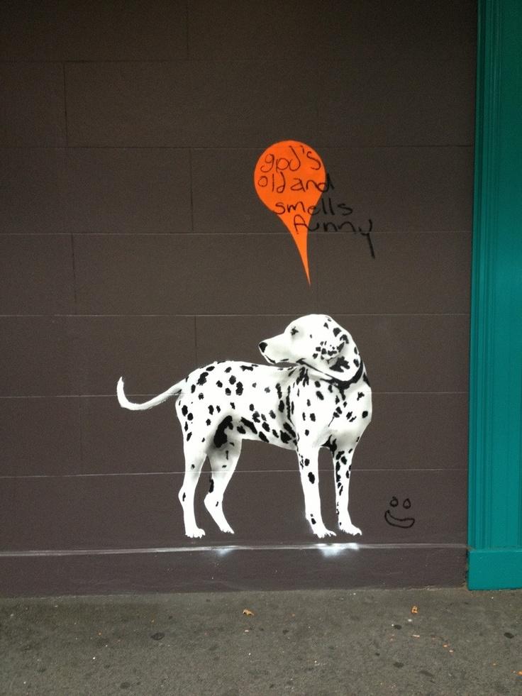 God's old and smells funny. Kings Cross, Sydney Australia. - Imgur