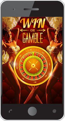 Mobile casino games vintage design banner