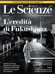 Cover del n.558 de Le Scienze, con immagine di Pierpaolo Mittica, tratta dalla serie Fukushima No-Go Zone.