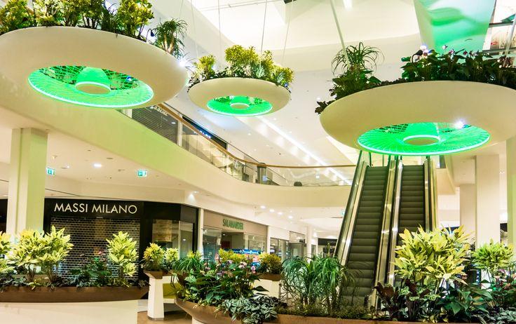 Alexis Tricoire - Tricoire Design Vegetal Atmosphere. Shopping centre filled with plants