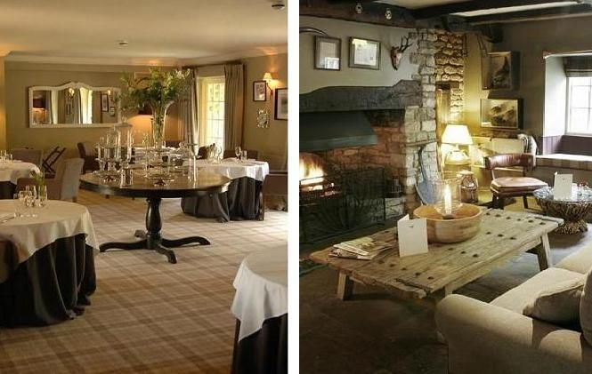 The Pheasant Hotel, Dinning Area