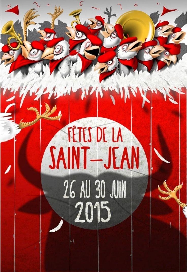 Saint-Sever (40) : un concours pour l'affiche des Fêtes de la Saint-Jean - SudOuest.fr