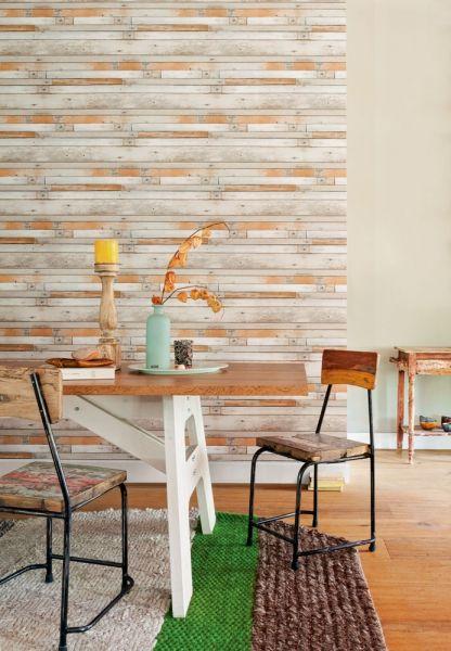 Inspirerande matrum med tapet från kollektionen Mirage 49772. Klicka för att se fler tapeter för ditt hem!