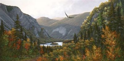 "Newfoundland Art - Lloyd Pretty - ""Humber River"""