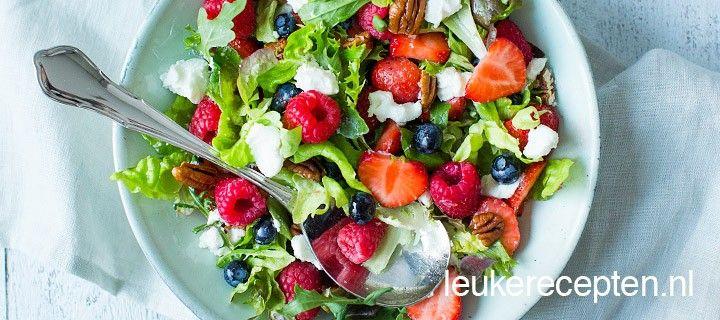 Bosvruchten salade