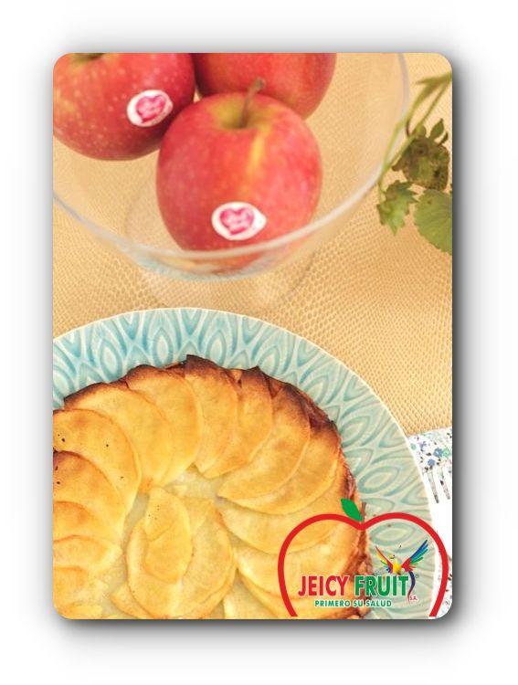 TORTA DE MANZANA PINK LADY de #Jeicyfruit