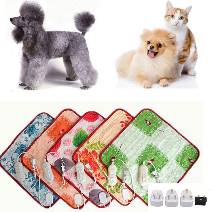 Zwierzęta Pluszowy Koc Elektryczny Podgrzewacz Zwierzęta Bed Mat Ogrzewania Dobry Kot Pies Łóżko Ciało Winter Warm Dywan Ogrzewanie Elektryczne Pad