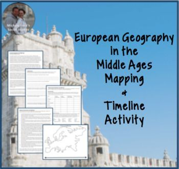 Allow students to investigate the geography of Europe at the end of the Middle Ages as a review lesson and skills-based activity to start your Renaissance unit in a World History course. Click to see a complete preview.