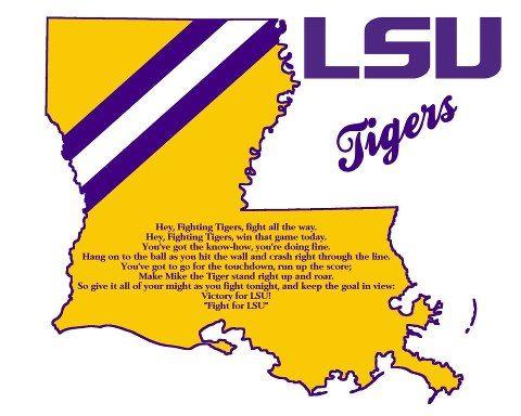 LSU TIGERS - LSU TIGERS colors purple & gold - Louisiana State University
