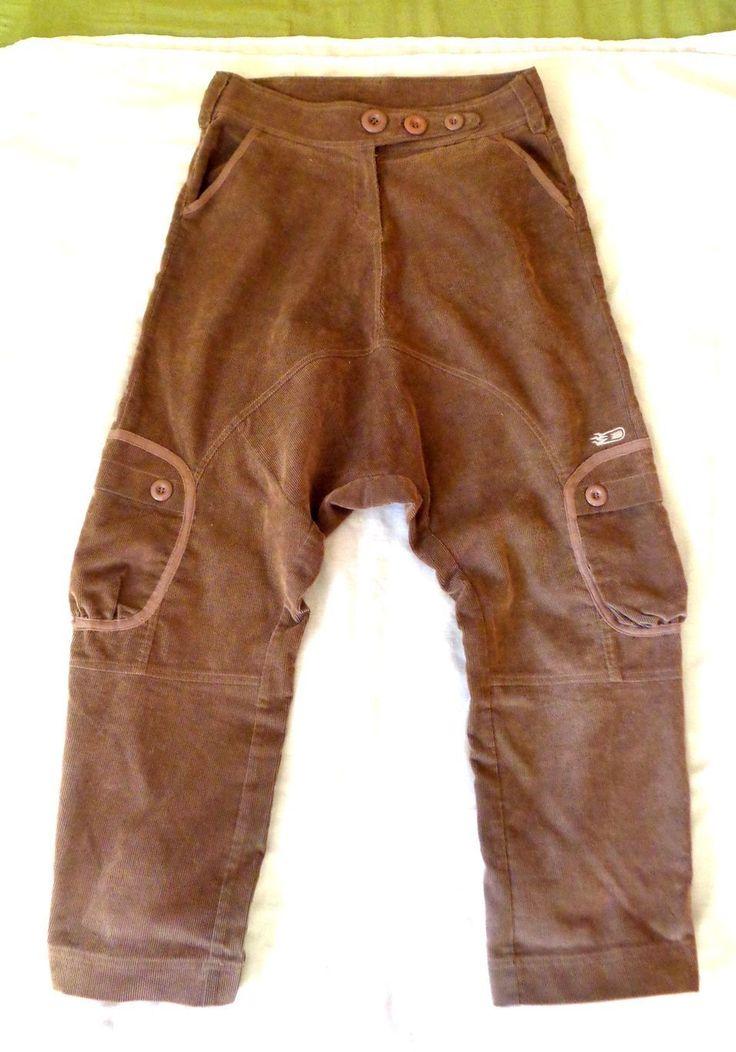 KanaBeach sarouel pants vintage cord dead quirky drop oaf slouchy lazy garsons | eBay