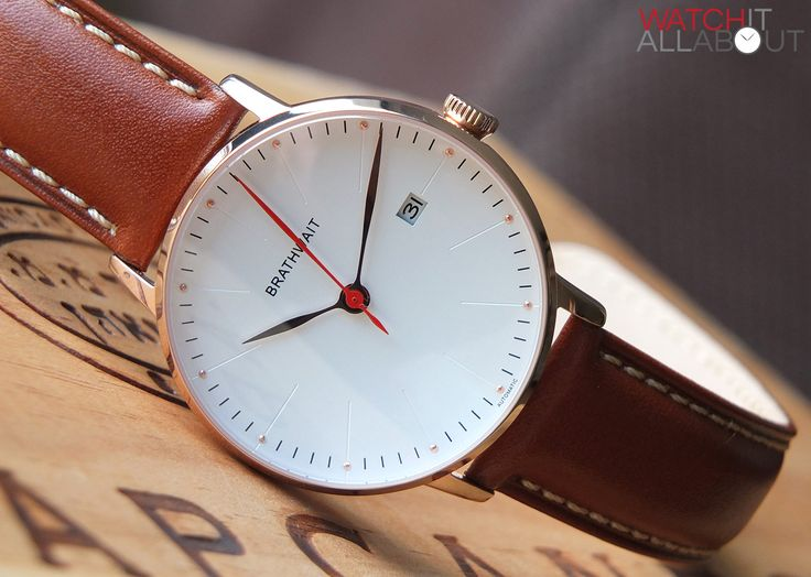 Brathwait Minimalist Automatic Watch Review | Watch It All About http://www.thesterlingsilver.com/product/emporio-armani-classic-collection-mens-quartz-watch-with-brown-dial-analogue-display-and-brown-leather-strap-ar2433/