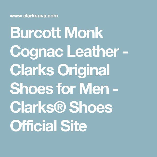 Burcott Monk Cognac Leather - Clarks Original Shoes for Men - Clarks® Shoes Official Site