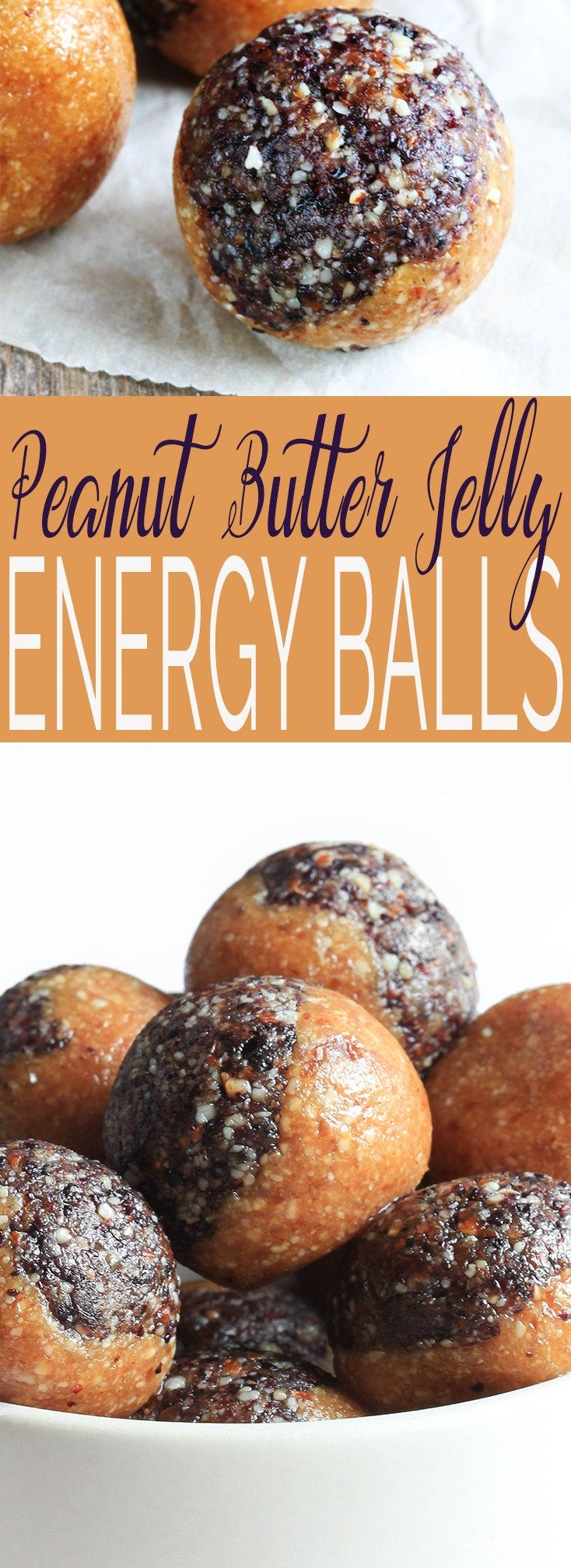 Peanut Butter and Jelly Energy Balls are a healthy little snack that is simple to make, requiring just 7 ingredients, 30 minutes and 1 bowl. Nutrient dense to keep you fueled throughout the day and to help fight cravings. #glutenfree #plantbased #vegan #wholefood