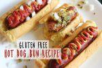 gluten free hot dog bun recipe