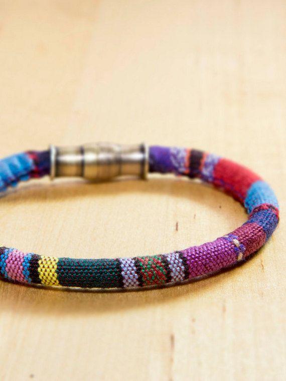 Boho Colorful Bracelet Ethnic Bracelet Friendship by MindTheGrace